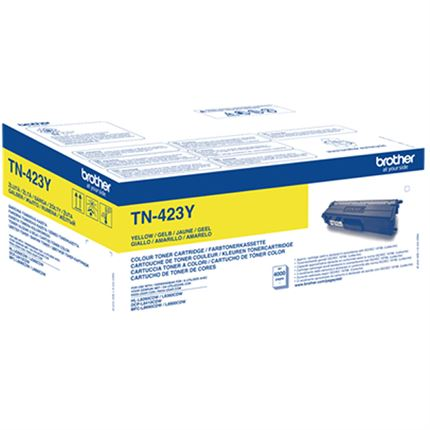 Brother TN-423Y toner amarillo original