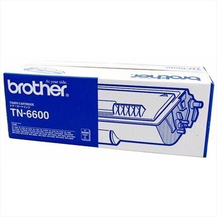 Brother TN-6600 toner negro original