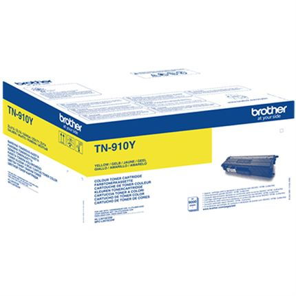 Brother TN-910Y toner amarillo original