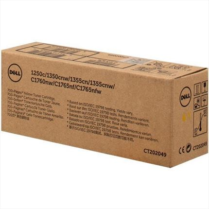 Dell 593-11147 - J95NM - 4NKC7 toner amarillo original