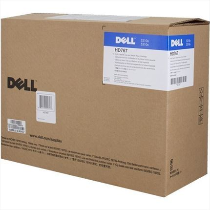 Dell 595-10011 - HD767 toner negro original