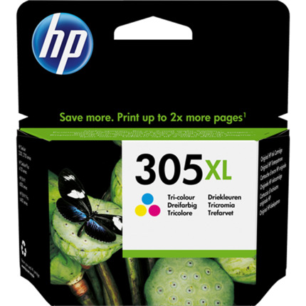 HP 305 XL - 3YM63AE tinta tricolor original
