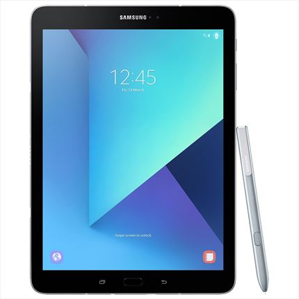 tablet Samsung galaxy tab s3 plata - qc 2.15/1.6ghz - 32gb - 4gb ram - 9.7/24.63cm 2048x1536 - anDRoid 7 - dual cam 13/5mp - s pen -bat. 6000mah